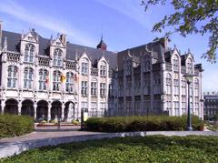 Liegi, il Palazzo dei Principi Vescovi