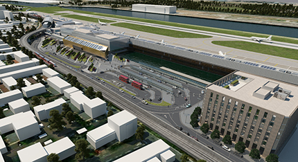 Il progetto di ingrandimento del London City Airport