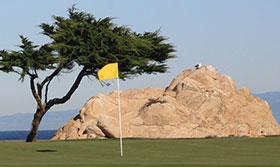 Monterey penisola GC, il green della 13 del Dunes Course
