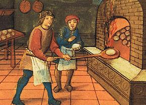 Fornaio medievale