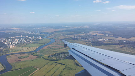 Mosca Volo da Roma Fiumicino