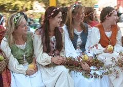 In Trentino la festa del raccolto delle mele