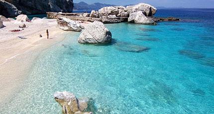 spiagge più belle della Sardegna Cala Mariolu, Punta Ispulgi, Brunei, Ogliastra