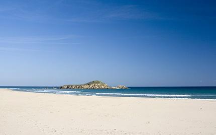 spiagge più belle della Sardegna Isola di Su Giudeu, Chia, località Capo Spartivento