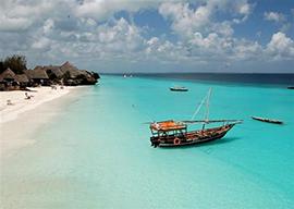Zanzibar, mare cristallino