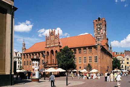 Torun, il Museo nel vecchio Municipio