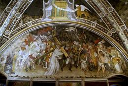 Abbazia Salita al Calvario, affresco di Giacomo Jaquerio (circa 1430), Precettorio di SantAntonio di Ranverso