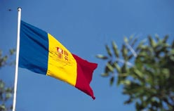 La bandiera di Andorra