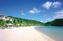 Antigua Spiaggia bianca e mare di cristallo (Foto: Carlisle Bay Antigua)