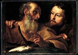 Bernini, Santi Andrea e Tommaso apostoli