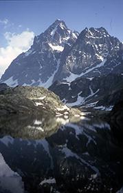 cime Monviso, la cima che ha dato lo spunto per la nascita del Club Alpino Italiano. Ph: C.Picco