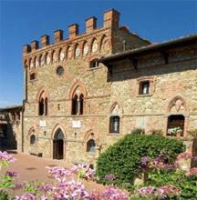 Il primo classificato, Castelletto di Montebenichi di Bucine (Arezzo)