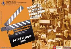 Il manifesto della rassegna cinematografica