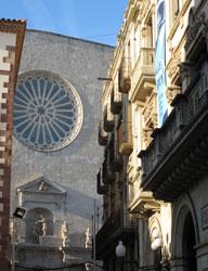 Castells Valls, centro storico