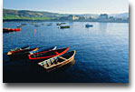La costa della Manica vista dalla penisola del Cotentin