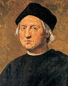 Uno dei più celebri ritratti di Cristoforo Colombo