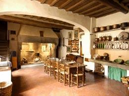 Il cucinone cinquecentesco della Villa del Mulinaccio (Foto:Fallanti)