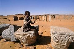 Old Dongola, rovine di una chiesa copta