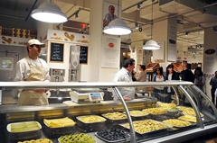 Il banco della pasta fresca a Eataly