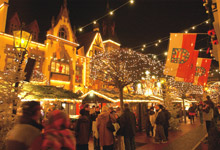 Il mercatino nel quartiere tedesco