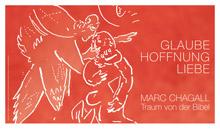 Il manifesto della mostra di Chagall