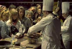 Degustazioni agli stand di Eurochocolate
