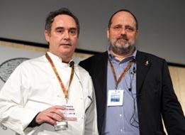 Ferran Adrià e Paolo Marchi