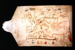 Albino de Canepa, Carta da navigare, Milano, Jaca Book, 1990, dal manoscritto (1480) conservato presso la Società Geografica Italiana, Cartoteca