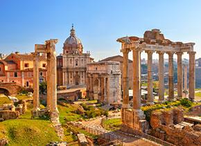 Roma, l'area archeologica dei Fori