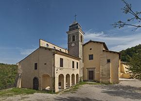 Campagnano di Roma, Santuario della Madonna del Sorbo (foto di Alfonso Mongiu)