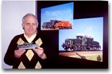 Bruno Baumgartner, fondatore del museo privato di ferro-modellismo