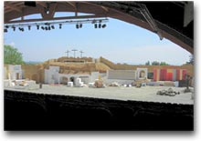 Veduta sull'anfiteatro dalle tribune