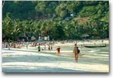 Koh Phangan Hat Rin, la spiaggia più turistica