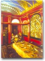 Vittoriale Cheli, la sala da pranzo per gli ospiti