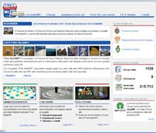 FreeItalia Wifi, home page del sito di riferimento