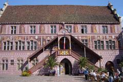 La facciata dell'Hotel de Ville