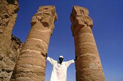 Karima, colonne di Hator