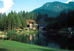 Abbazie Lago nel parco naturale della Val Troncea