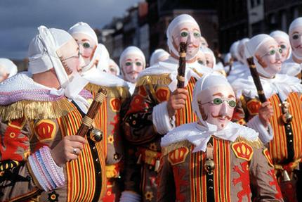 carnevale I Gilles del Carnevale di Binche