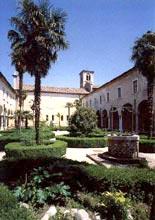 Il chiostro dell'Abbazia di Maguzzano