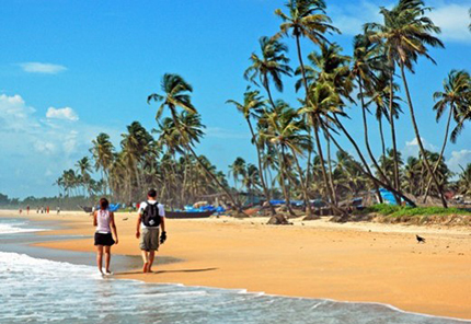 Mari indiani Goa, passeggiate in solitaria sulla sabbia