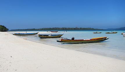 Spiaggia delle Andamane