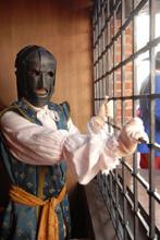 La maschera di ferro, Pinerolo