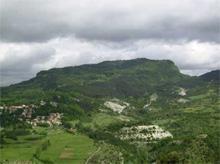 Il profilo del Monte Penna