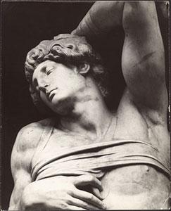 Jacques-Ernest Bulloz (Parigi 1858 - 1942) Lo Schiavo morente  1920 ca. Firenze, Biblioteca Berenson, Fototeca, Villa I Tatti