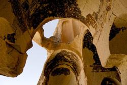Chiesa di Pankarlik vicino a Mustafapasa