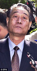Il ministro delle Finanze della Corea del Nord, Pak Nam-Ki (© EPA)