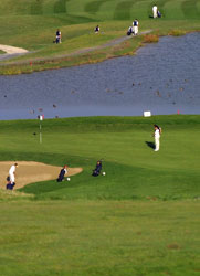 Club de golf Castillo de Gorraz. Foto di Paolo Ferrari