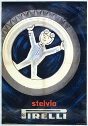Raymond Savignac, Stelvio Pirelli, 1954