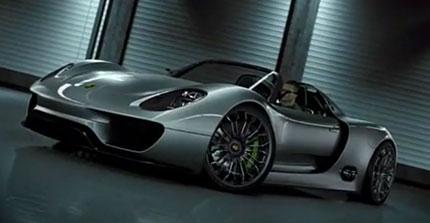 La Spyder ibrida di Porsche